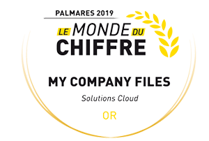 palmares mycompanyfiles 2019 catégorie or solutions cloud